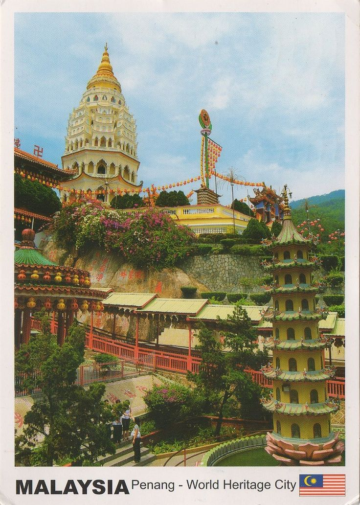 MYS-27462  -  Arrived: 2017.08.28   ---     The Kek Lok Si Temple is a Buddhist temple situated in Air Itam in Penang facing the sea and commanding an impressive view, and is one of the best known temples on the island.