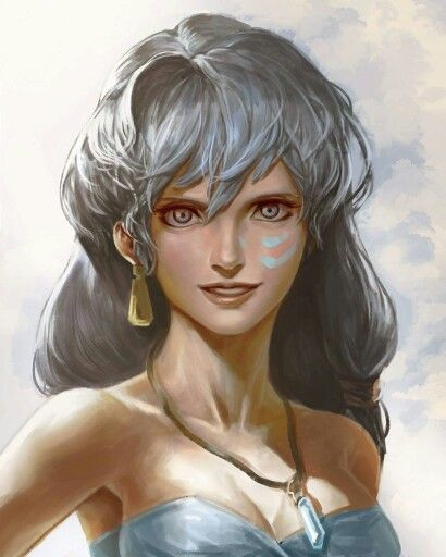 Atlantis princess Kida