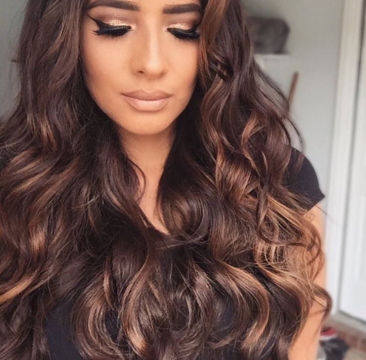 brownwavyhair o h pinterest hair coloring hair style and makeup. Black Bedroom Furniture Sets. Home Design Ideas