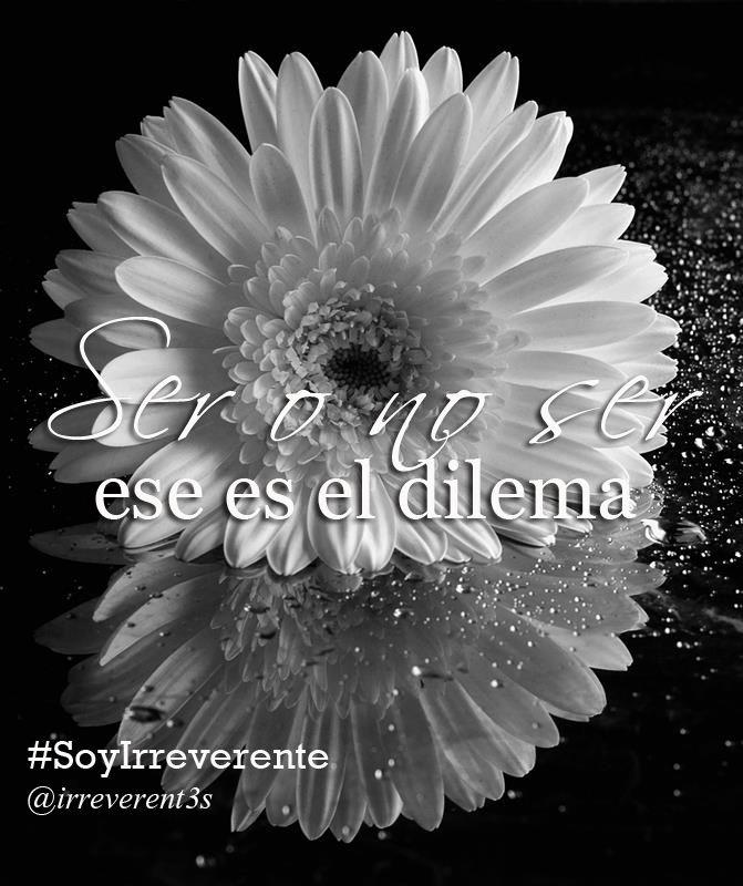 Interesante post de @itxab #ItxaBustillo para Las Irreverentes http://irreverentesblog.blogspot.com/2016/01/ser-o-no-ser-ese-es-el-dilema.html?spref=tw