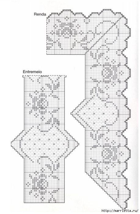 Стильное вязание крючком для дома. Схемы (6) (458x700, 185Kb)