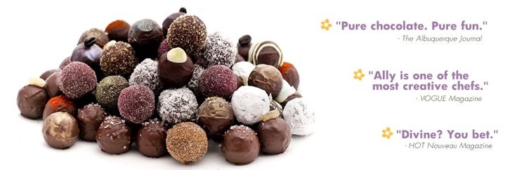 Cocopotamus chocolates - sinfully wonderful.