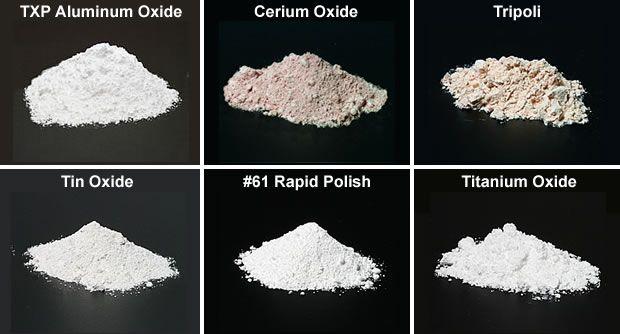 Rock tumbling polish and pre-polish