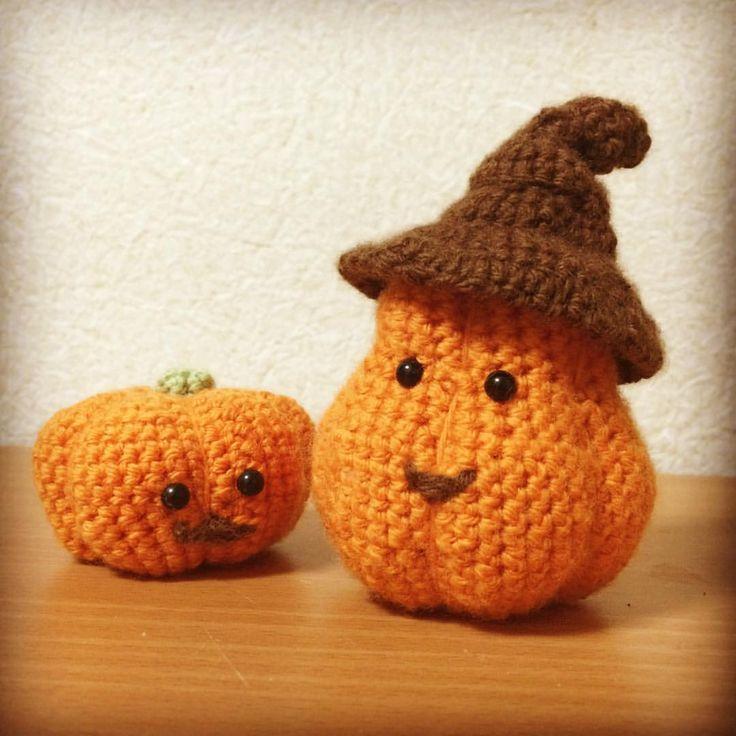 Halloween Pumpkin! #yarn #crochet #halloween #pumpkin