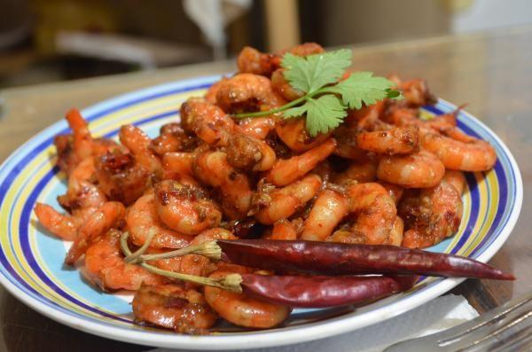 Receta de Camarones a la diabla estilo Guerrero