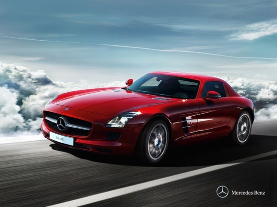 Mercedes-Benz SLS AMG. A spectacle of nature. Unleashed by our engineers.