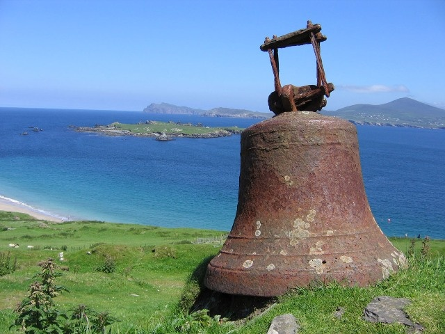 Great Blasket Island in County Kerry. An amazing place and I found it to be very spiritual.