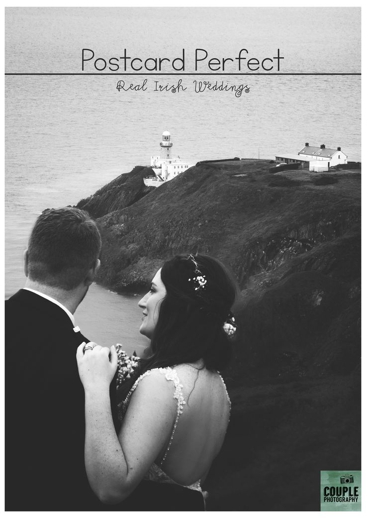 Kate & Andy came all the way from New York to get married in the picture perfect Howth Village. We made the most of the scenery for their wedding photos! See the whole wedding on Couple.ie, along with lots more real Irish weddings.