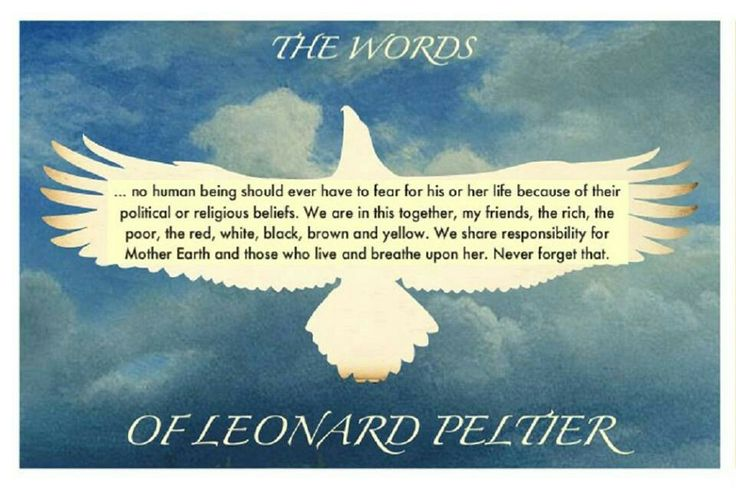 Leonard Peltier and the Indian struggle for freedom