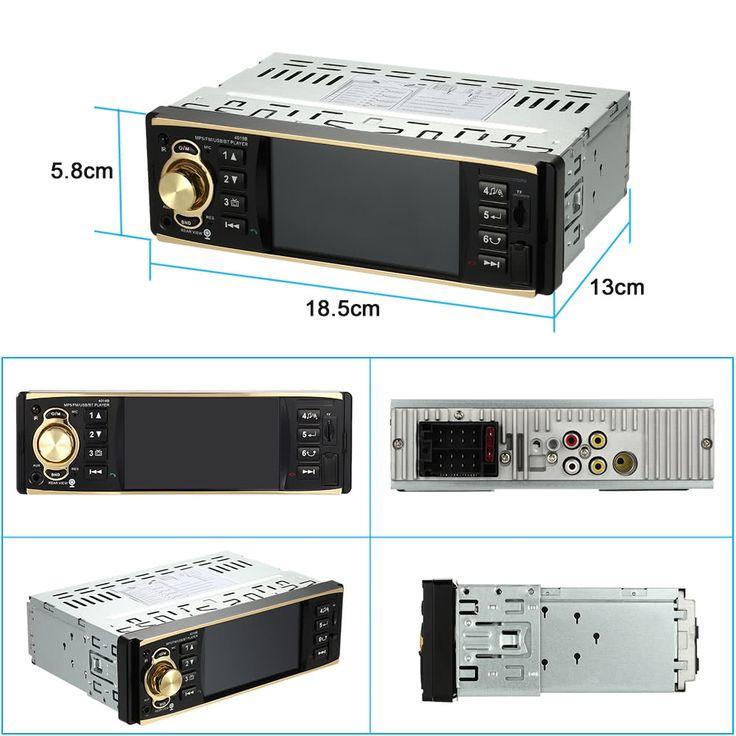 4.1 inch Universal TFT HD 1080P Bluetooth Car Radio MP5 Sales Online black - Tomtop.com