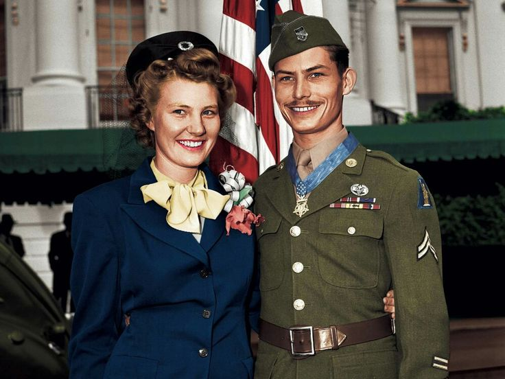 Desmond Thomas Doss (February 7, 1919 – March 23, 2006) was a United States Army Corporal who served as a combat medic with an infantry company in World War II. After distinguishing himself in the Battle of Okinawa, he became the first conscientious objector to receive the Medal of Honor for actions above and beyond the call of duty. He is also the only conscientious objector to receive the medal during World War II.