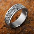 Männer Ring: Edelstahl Ring für Herren