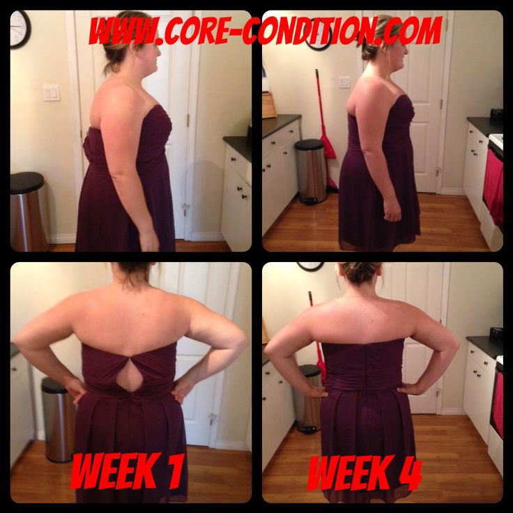 4 week challenge results!  www.core-condition.com