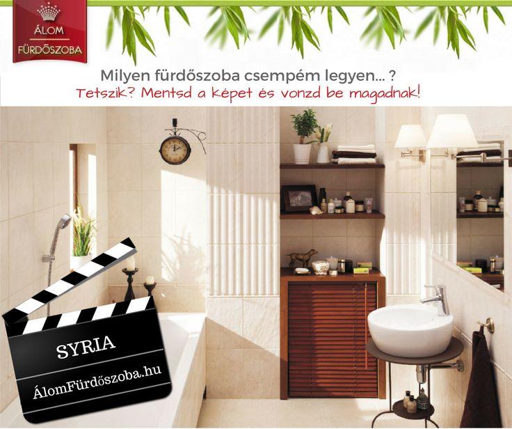 ♥ SYRIA kollekció ♥ Bomba jó áron, gyors szállítással☺ Bemutatótermünkben megtekinthető. További info, akciós árak itt:  http://alomfurdoszobak.hu/hu/316-domino-syria-furdoszoba