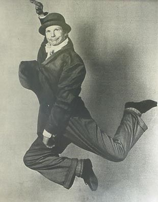 Bill Irwin, The Regard of Flight. Early 1980s.