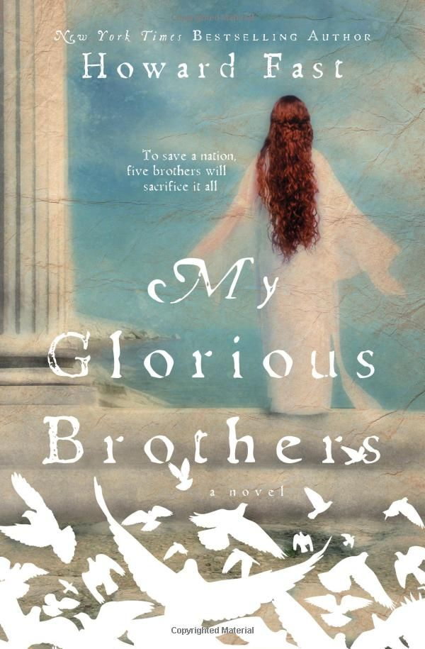My Glorious Brothers by Howard Fast. A most glorious piece of historical fiction to tell the story of the Macabees.