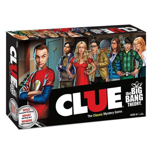 big bang theory clue!