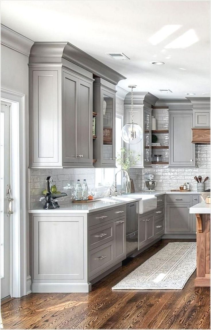 84 Best Kitchen Cabinets Design Ideas To Inspiring Your Kitchen In 2020 Kitchen Remodel Small Farmhouse Kitchen Design Kitchen Cabinet Design