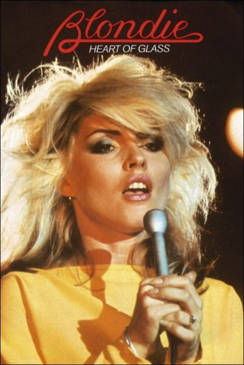 When I think of blonde rock and roll icons, Debbie Harry is the ultimate!