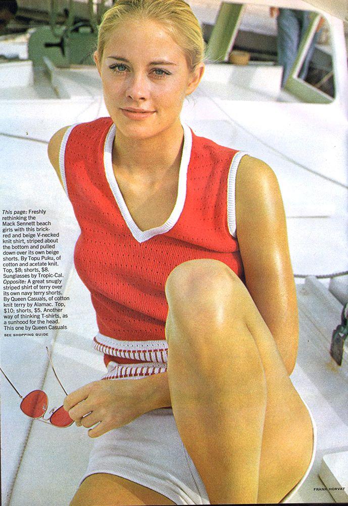 Fashion - Cybil Shepherd - Glamour - May, 1969