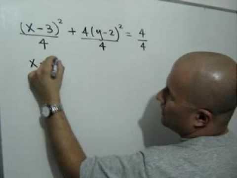 Graficar una Elipse (parte 1 de 2): Julio Rios explica cómo transformar la ecuación general de una Elipse hasta llevarla a la forma que permite identificar sus elementos principales.