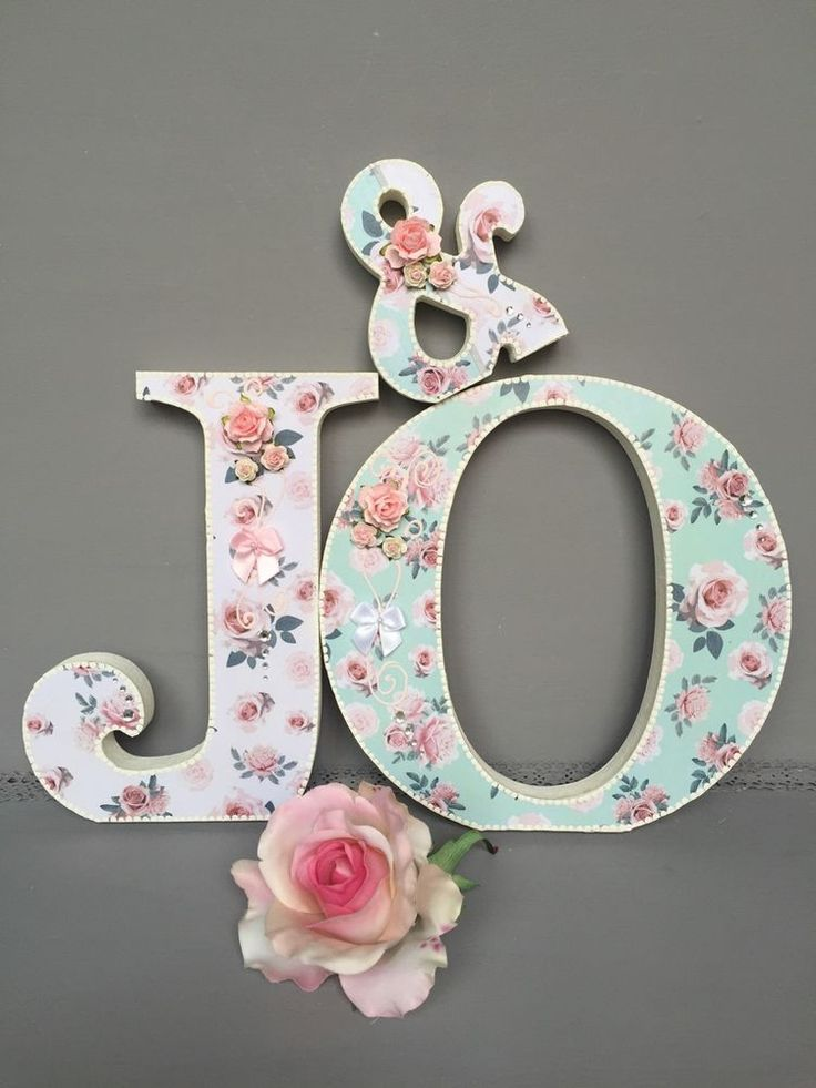 best 25  decorated wooden letters ideas on pinterest