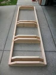 diy wooden bike stand - Google Search