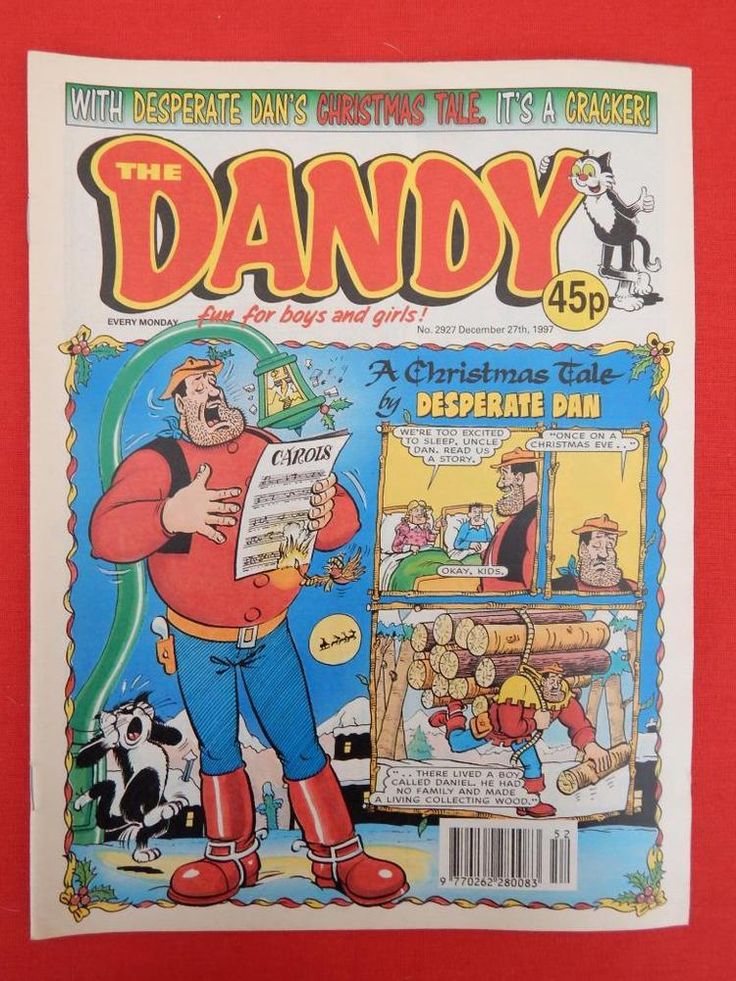 Dandy Christmas/NY edition Comic 27th December 1997 - Nostalgic/retro gift - VGC