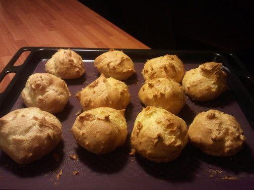 recipe for profiteroles cabbages (buns)
