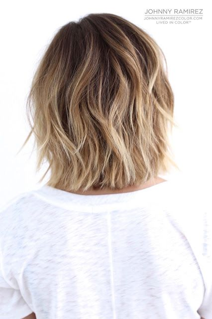Best 25 balayage short hair ideas on pinterest short - Balayage blond blanc ...