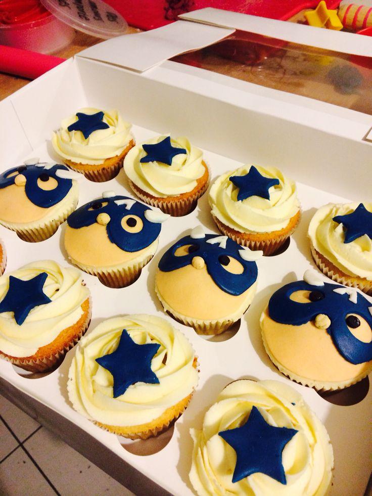 Cupcake capitaine America