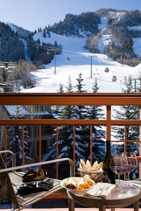 Brides.com: Top 20 Honeymoon Resorts in the United States. 17. Little Nell, Aspen, Colorado. Looking for a winter honeymoon spot? This is Aspen's only, ski-in, ski-out hotel, and the staff is unbelievably gracious. The activity options? Hole up in one of the 92 warm, earth-toned rooms, styled by famous designer Holly Hunt; borrow an Audi for a half-day mountain drive; or sip Veuve Cliquot 11,000 feet up at the world's first ski-in, ski-out champagne bar.  Rooms from $380, The Little Nell.