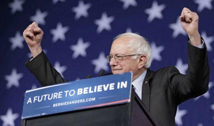 Bernie Sanders Takes The Lead In National Polls
