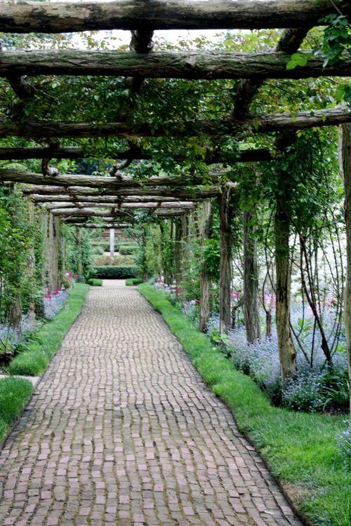 Shade Garden Design Plans Walkways