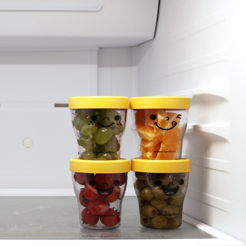 Ecotainer is stackable. Great for everyday use and picnics! Available at www.kidsberry.com.au