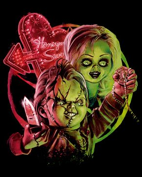 Bride of Chucky V2 [01336] - $27.00 : Horror T-Shirts : FRIGHT-RAGS, Horror Shirts