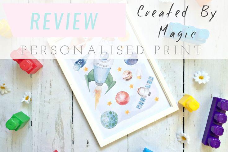 Created by Magic Personalised Print | Seek My Scribbles