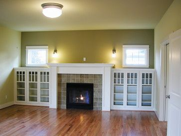 Craftsman Living Room Design Ideas, Pictures, Remodel and Decor