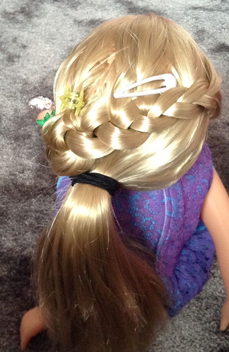 I just WISH I could do this in my hair because it is so hard