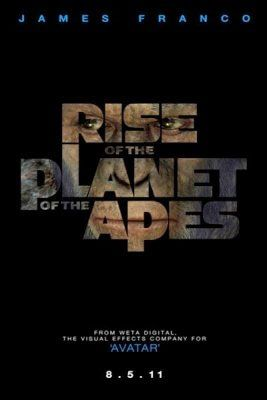 Rise of the planet of the apes. A great film and a different kind of creature feature .