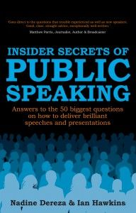 More frightening than spiders, death and clowns, speaking in public is an essential life skill. Whether you're planning your first presentation to a client, speaking at a family occasion, or about to deliver your five hundredth speech at a conference, this book reveals the answers to fifty of the biggest questions that real people ask about public speaking of all kinds. More on http://rethinkpress.com/uncategorized/insider-secrets-of-public-speaking/