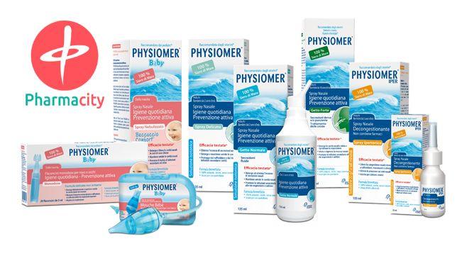 Υποφέρετε εσείς ή το παιδί σας από κρύωμα, ρινίτιδα, γρίπη ή αλλεργία; Τα προϊόντα PHYSIOMER είναι εδώ για να σας βοηθήσουν να ανακουφιστείτε από τα συμπτώματα της ασθένειας και για να προστατέψουν το αναπνευστικό σας σύστημα. Αυτό που τα κάνει μοναδικά, είναι το γεγονός ότι περιέχουν 100% θαλασσινό νερό το οποίο περιέχει 80 μέταλλα και ιχνοστοιχεία με κλινικά αποδεδειγμένα οφέλη για τα κύτταρα του βλεννογόνου της μύτης.    Θα τα βρείτε έως και 30% φθηνότερα εδώ: goo.gl/SVtnQ6
