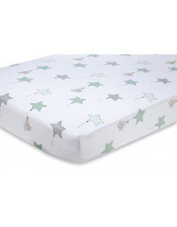 aden + anais classic cot sheet - Up, Up & Away