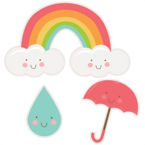 Daily Freebie 4-15-14: Miss Kate Cuttables--Happy Spring Set SVG cutting files rainbow svg cut file raindrop svg cut file umbrella svg cut file free svgs