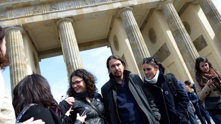 Iglesias y Montero gastaron 8.000 en viajar a Berlín 24 horas para una manifestación de 50 personas