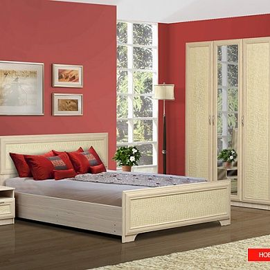 Спальня Ивушка-7 купить в Екатеринбурге | Мебелька