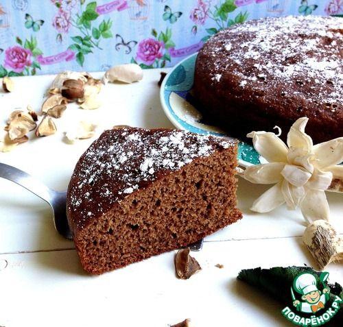 """Шоколадно-банановый пирог """"Шокобон"""" - кулинарный рецепт"""