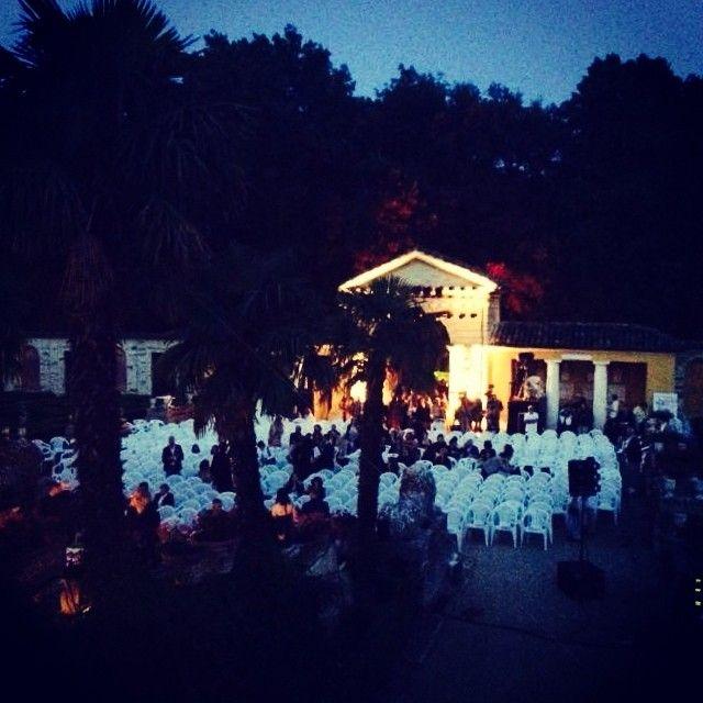 Location da sogno per il Gran Galá #VillaCollio #Marche #igersmarche #abiti #sposa #sposa15 #newcollection #bride #bridal #white #whitedress #fashion #moda #abitidasposa #abitodasposa #CMCreazioni