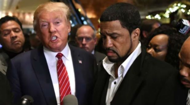 """""""People call me an Uncle Tom; they question my motives. That couldn't be further from the truth. I believe Donald Trump is what's best for the black community. I have met him, and he is authentic."""""""