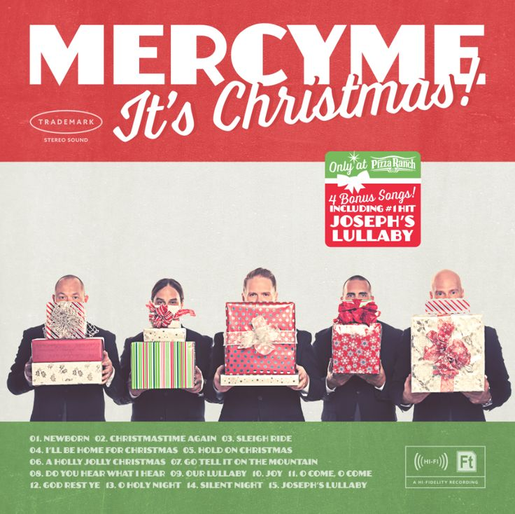 Details about the collaboration between MercyMe and Pizza Ranch to provide the MercyMe It's Christmas album!